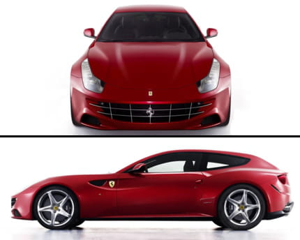 Ferrari on Ferrari La Ferrari Ff Sera Officiellement Presentee Au Salon De Geneve
