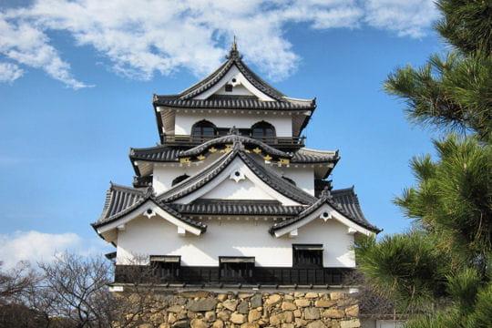 hikone : souvenir de l'époque féodale