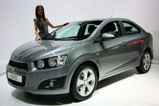 chevrolet aveo salon de gen ve 2011 les nouveaut s trang res linternaute. Black Bedroom Furniture Sets. Home Design Ideas