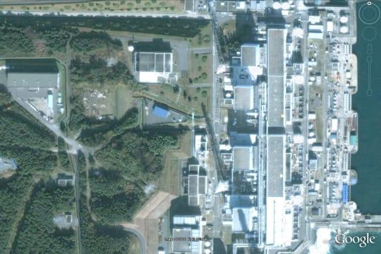 La centrale nucléaire de fukushima daiichi et ses réacteurs 1, 2, 3