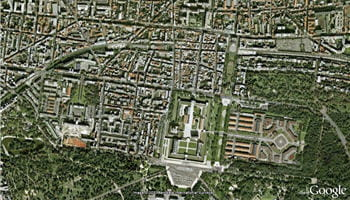 vue satellite de vincennes.
