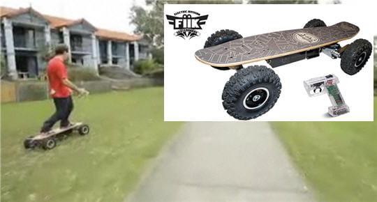 skateboard moteur lectrique ces v hicules en avance sur leur temps linternaute. Black Bedroom Furniture Sets. Home Design Ideas
