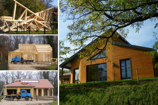 Misterbricolo construit sa maison en bois for Conseils construction maison