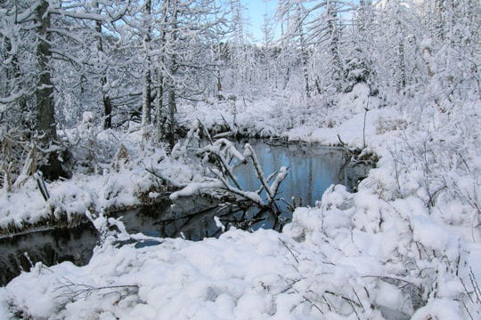l'hiver à trois-rivières
