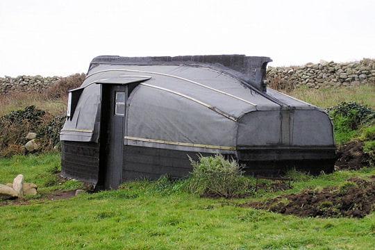 Cabane bateau