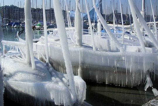 Bateaux glacés