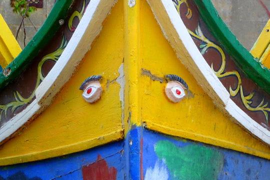 Le bateau aux gros yeux