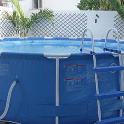 Les piscines souples installer une piscine hors sol for Installer une piscine