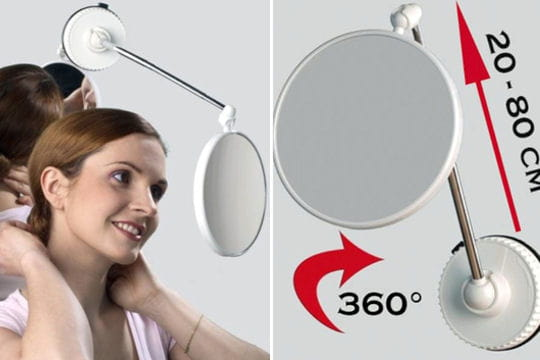 Le miroir pour ne plus rater son maquillage ni sa coiffure for Miroir intelligent