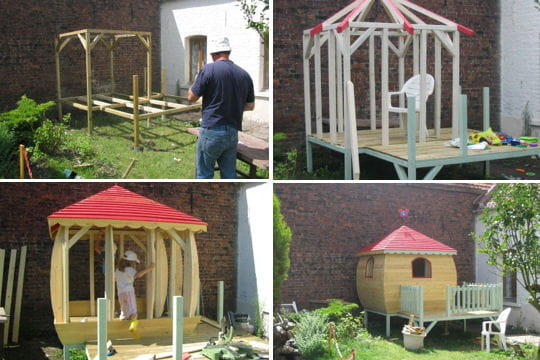 Une cabane dans un coin de jardin les plus belles cabanes des lecteurs linternaute - Construire cabane jardin tours ...