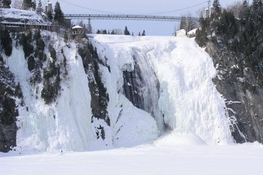 figées dans la glace