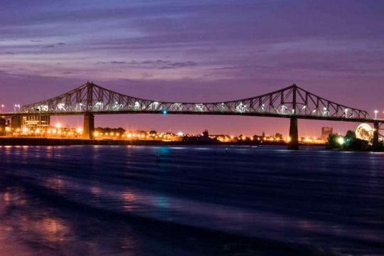 montréal, le pont jacques cartier