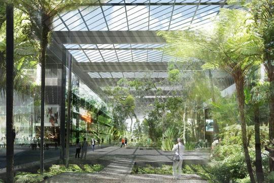 Un grand jardin central le nouveau visage de l 39 le seguin boulogne bi - Jardin de l ile seguin ...