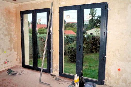 Remplacement des baies vitr es r novation compl te d 39 une maison de plai - Nettoyer baies vitrees ...