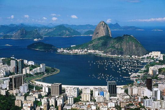baie de guanabara au brésil