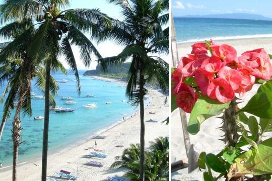 baie de puerto galera aux philippines