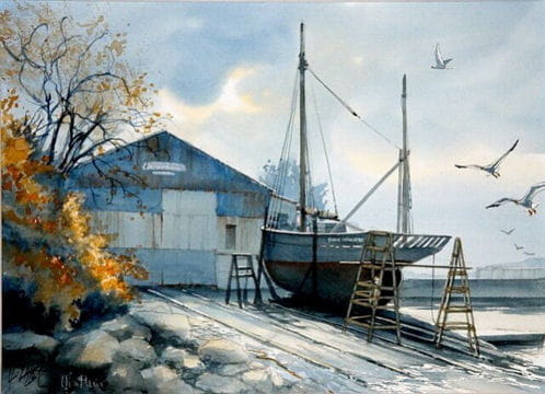 Chantier naval de Honfleur