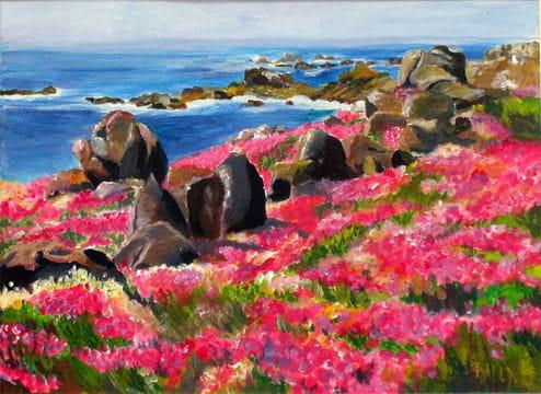 Fleurs marines