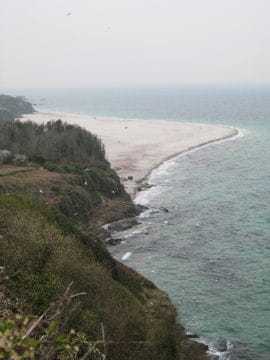 plage des grands sables  groix