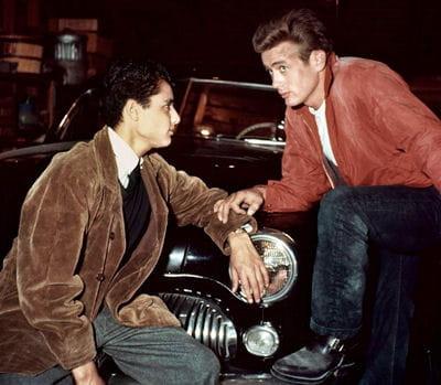"James Dean dans ""La Fureur de vivre"" © Warner Bros."